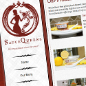 The Sauce Queens website