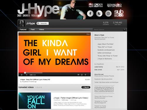 http://www.youtube.com/user/JHypeMusic