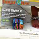 Traveler's Depot website